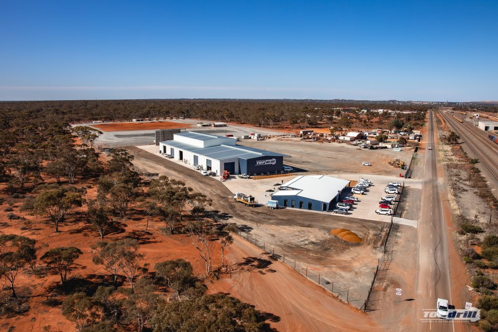 Aerial View of New Site